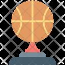 Basketball Trophy Winner Icon