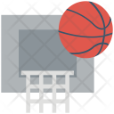 Basketball Court Hoop Icon