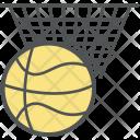 Basketball Hoop Backboard Icon