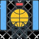 Basketball Backboard Ball Icon