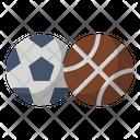 Ball Basketball Soccer Icon