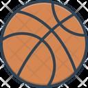 Basketball Circle Play Icon