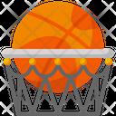 Basketball Hoop Net Icon
