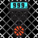 Basketball Player Entertainment Icon