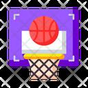Basketball School Sport Icon