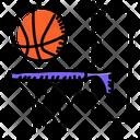 Basketball Goal Basketball Basketball Stand Icon