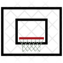 Basketball Court Basket Icon