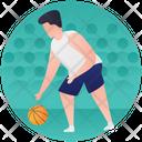 Netball Basketball Ball Game Icon