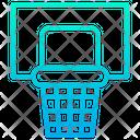 Basketball Hoop Basketball Ring Sport Icon