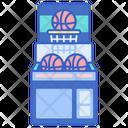 Basketball Arcade Basket Ball Machine Basket Ball Hoop Icon