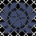 Basketball Badge Icon