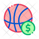 Basketball Ball Betting Icon