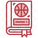 Basketball Book Sports Book Fitness Book Icon