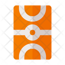 Basketball Court Sport Event Icon