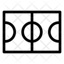 Basketball Court Field Icon