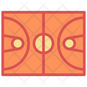 Court Field Basketball Icon