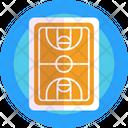 Basketball Field Sports Field Basketball Icon