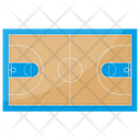 Basketball Court Icon