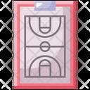 Board Strategy Basketball Icon