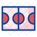 Basketball Field Sport Game Icon