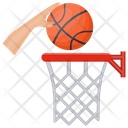 Backboard Basketball Goal Basketball Stand Icon
