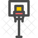 Basketball Hoop Pole Icon
