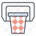 Basketball Hoop Basketball Net Backboard Icon