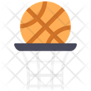 Basketball Hoop Ball Game Icon
