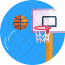 Basketball Goal Post Basketball Basketball Ball Icon