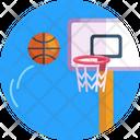 Basketball Goal Post Basketball Basketball Ball Icon