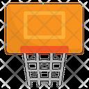 Basketball Hoop Basketball Net Basketball Goal Icon