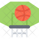 Basketball Hoop Icon