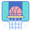 Sports Basket Ball Game Icon