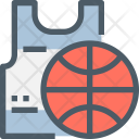 Clothing Basketball Jersey Icon