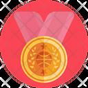 Circular Medal Medal Award Icon