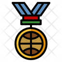 Medal Sports And Competition Basketball Icon