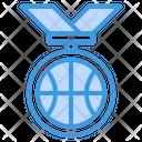Basketball Medal Sport Medal Honors Medal Icon