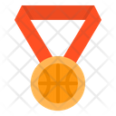 Basketball Medal Icon
