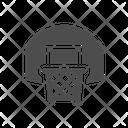 Basketball Net Basketball Hoop Backboard Icon