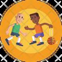 Basketball Ball Dribble Icon
