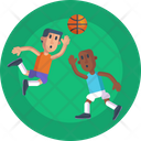 Sports And Competition Basketball Game Icon