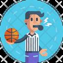 Basketball Referee Icon