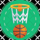 Basketball Basketball Ball Basketball Ring Icon