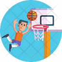 Sports And Competition Basketball Ball Icon