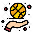 Basketball Spinning Icon