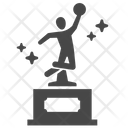 Basketball Trophy Trophy Win Icon