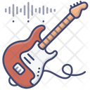 Electric Guitar Music Icon