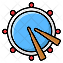 Drum Drum Beating Musical Instrument Icon