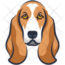 Basset Hound Foxhound Icon