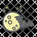 Bat Moon Night Icon